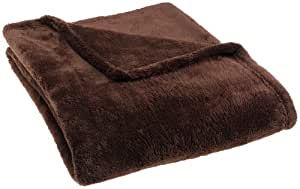 Pinzon 50-by-60-Inch Microtec Throw, Espresso