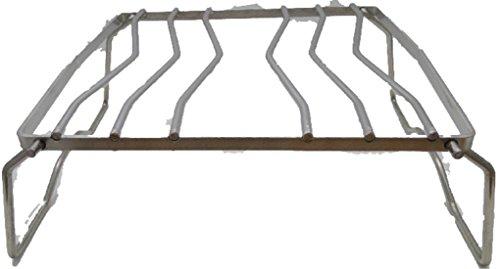 丈夫でコンパクト クッカースタンド セカンドグリル ステンレス コンパクト 折り畳み キャンプ アウトドア BBQ