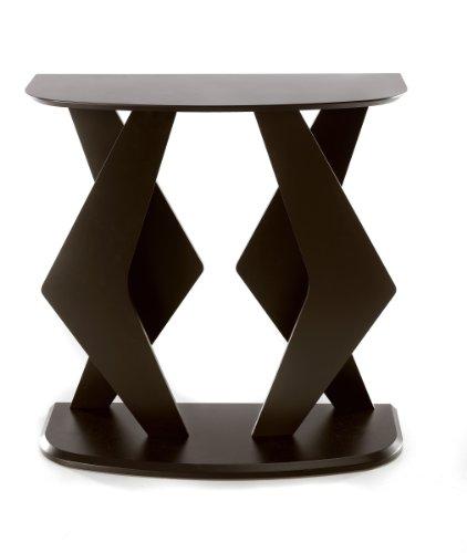 Nexera 542117 Boomerang Evo Console Table, Espresso front-695221