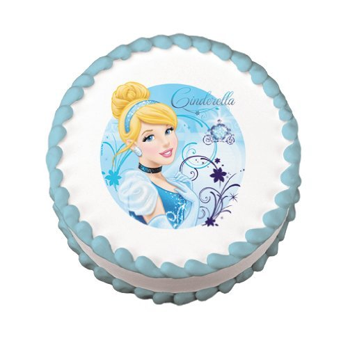 Cinderella Birthday Party Edible Image Cake Toppers ...