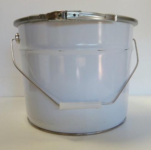 """Survival Storage Container - 26 Gage Carbon Steel 12""""X10"""" Water & Air Tight"""