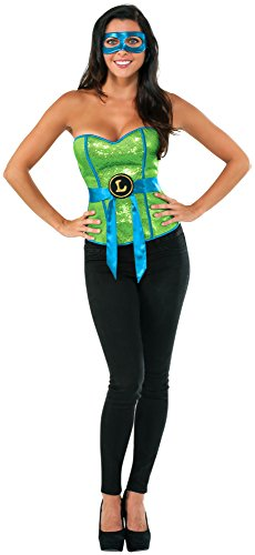 Rubie's Costume Co Women's Teenage Mutant Ninja Turtles Leonardo Corset