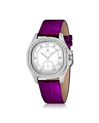 Klaus Kobec Women's 10023-01 Avery Purple/White Stainless Steel Watch