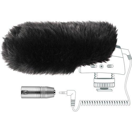Sennheiser Mzw400 Wind-Muff And Xlr Adapter Kit For The Mke400