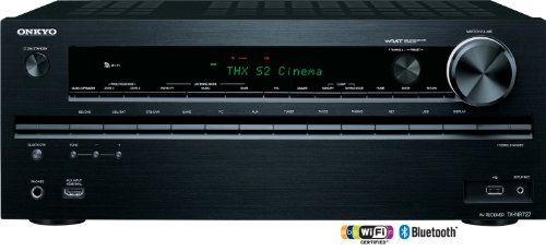 Onkyo TX-NR727 3D Ready A/V Receiver - 7.2 Channel