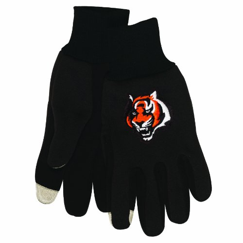 NFL Cincinnati Bengals Technology Touch Gloves