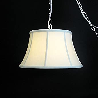 Hanging Lamps That Plug In To The Wall : Upgradelights? Eggshell Silk 17