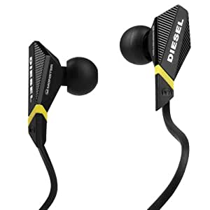 Monster Cable Diesel In Ear Headphone With Control Talk Black