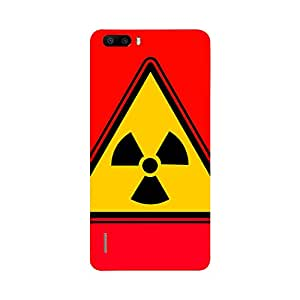 Digi Fashion Designer Back Cover with direct 3D sublimation printing for Honor 6 Plus