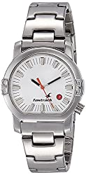 Fastrack Analog White Dial Mens Watch - NE1161SM03