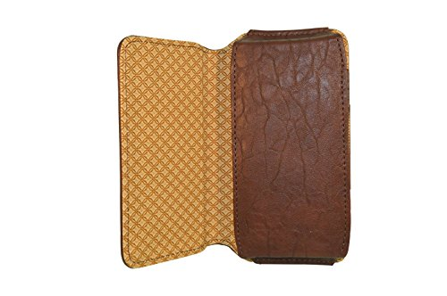 TOTTA PU Leather Hand Pouch For OnePlus One- Brown