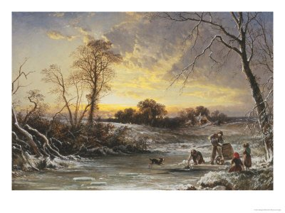 The Frozen Pond by George Williams