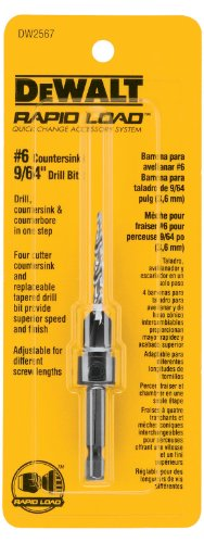 DEWALT DW2567 #6 Countersink with 9/64-Inch Drill Bit