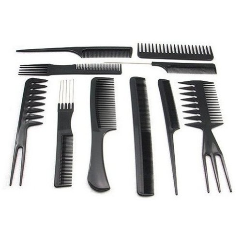1set/10pcs Salon Barbers Hair Styling Hairdressing
