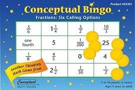 Conceptual Bingo - Fractions