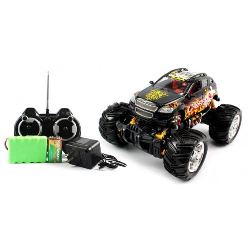 Big Size QUALITY Electric Full Function 1:16 GRAFFITI VW Crossover Monster RTR RC Truck (Colors MAy Vary) QUALITY Remote Control RC Trucks w/ Working Suspension