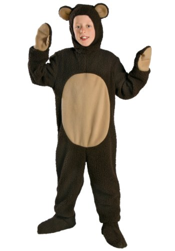 Big Boys' Child Bear Costume