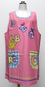 Sesame Street character applique apron apron 23333005 (japan import)
