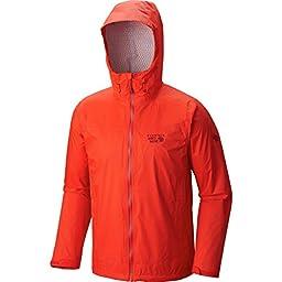 Mountain Hardwear Plasmic Ion Jacket - Men\'s Fiery Red, XXL