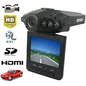 Rando HD CAR DVR 1280 x 720P Camcorder Video Camera Night Vision 2.5-Inch LCD with HDMI Cable from Rando