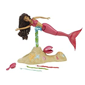 Playmates H2O Magical Swimming Doll - Cleo