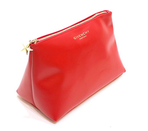 givenchy-parfums-big-trapezium-red-pouch-cosmetic-make-up-bag-new