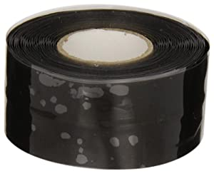 Nashua 386 Stretch and Seal Tape: 1 in. x 10 ft. (Black)