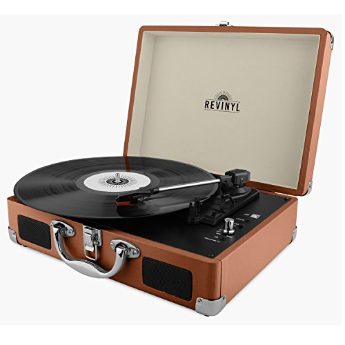 revinyl-briefcase-record-player-suitcase-vinyl-turntable-bluetooth-3w-speakers-brown