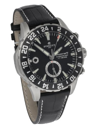Perrelet Diver Seacraft GMT Automatic Men's Luxury Watch A1055/2
