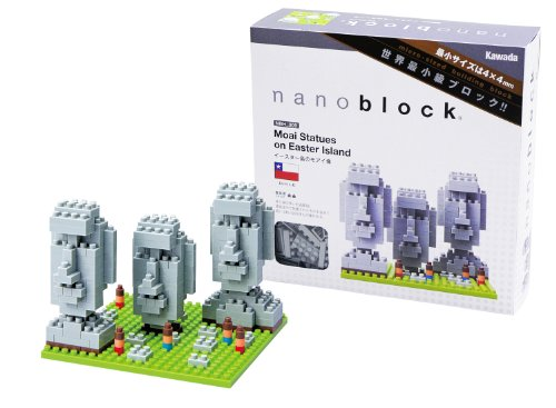 Ohio Art Nano Blocks Easter Island