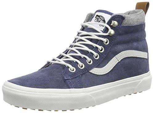 VansSK8-Hi MTE - Pantofole a Stivaletto unisex adulto , Blu (Bleu (Mte/Denim/Blue)), 38