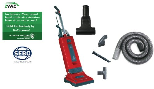 Sebo 9558Am Gvpe Pet Edition Red Upright X4 Vacuum