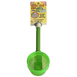 Polly\'s Short Mess Less Cup for Pet Birds, Small