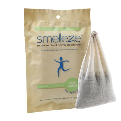 smelleze-reusable-dead-animal-smell-removal-deodorizer-pouch-rid-decay-odour-without-scents-in-150-s