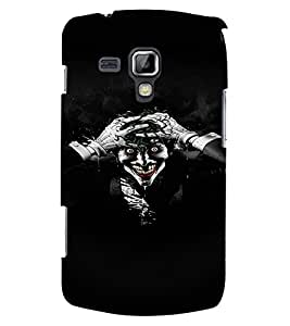 Fuson 3D Printed Ghost Designer back case cover for Samsung Galaxy S Duos 2 S7582 - D4449