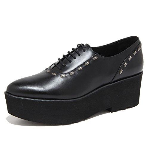 4155N scarpa allacciata PALOMITAS scarpe donna shoes woman nero [40]