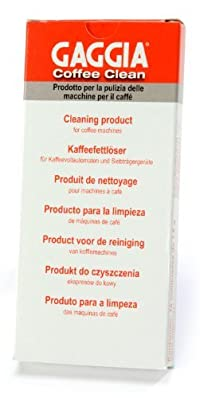 Gaggia Coffee Clean Tablets with Taste Enhancement