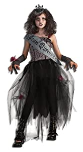 Rubie's Deluxe Goth Prom Queen Costume - Medium (8-10)
