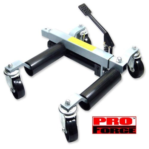 Images for Hydraulic Vehicle Automotive Moving Jack Dolly - HYDRAULIC Car Dolly