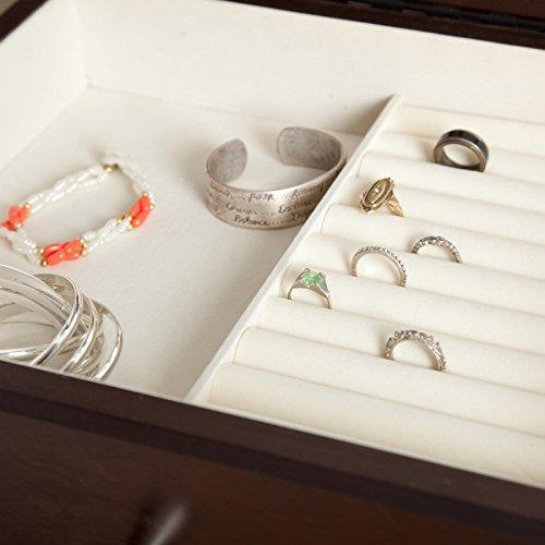 Belham Living Juno Vintage Modern Jewelry Armoire