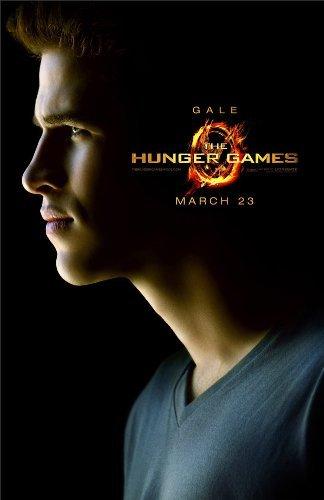 "The Hunger Games (2012) Gale Hawthorne Liam Hemsworth 13"" x 19"" Borderlesss Movie Poster + Laminated Bookmark"