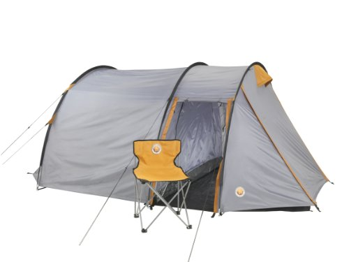 Grand Canyon Robson 3 Person Tent - Stone/Sand