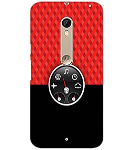 PrintDhaba Funny Meter D-3490 Back Case Cover for MOTOROLA MOTO X STYLE (Multi-Coloured)