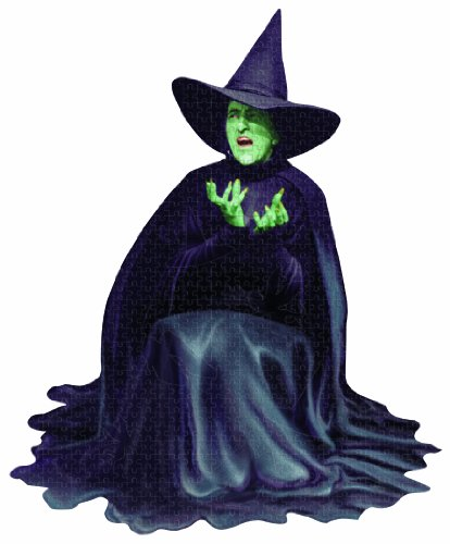 Paper House Jigsaw Shaped Puzzle 500 Pieces 21 by 26-Inch -The Wizard of -Ounce - Wicked Witch