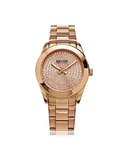 SO&CO New York Women's 5067.3 Madison Analog Display Quartz Rose Gold Watch