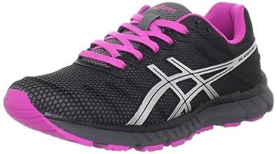 ASICS Women's Gel Speedstar 6 Running Shoe,Storm/Silver/Electric Magenta,7.5 M US