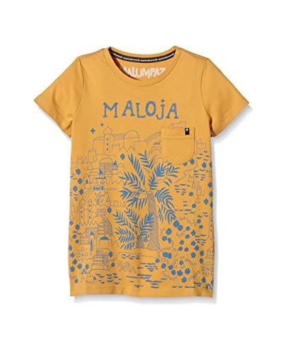 Maloja Camiseta Manga Corta Rabial Mostaza