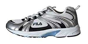 Fila , Chaussures de running pour homme SILVER/WHITE/BLACK/BLUE - - SILVER/WHITE/BLACK/BLUE, 35.5