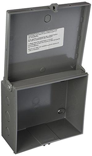 Arlington Electronic Equipment Enclosure Box Non-Metallic, 1-Pack by Arlington Industries. Inc