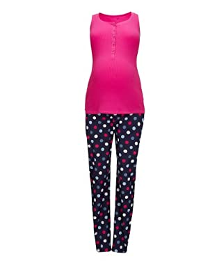 Maternity Spot Pyjama Set